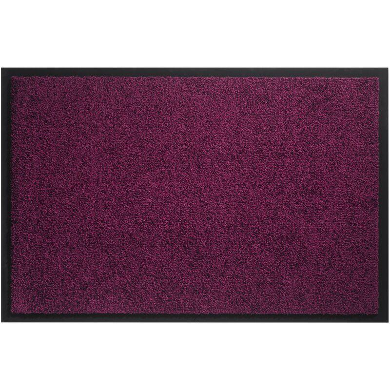 SENCYS Paillasson HaMat 'Twister' mauve 40 cm x 60 cm