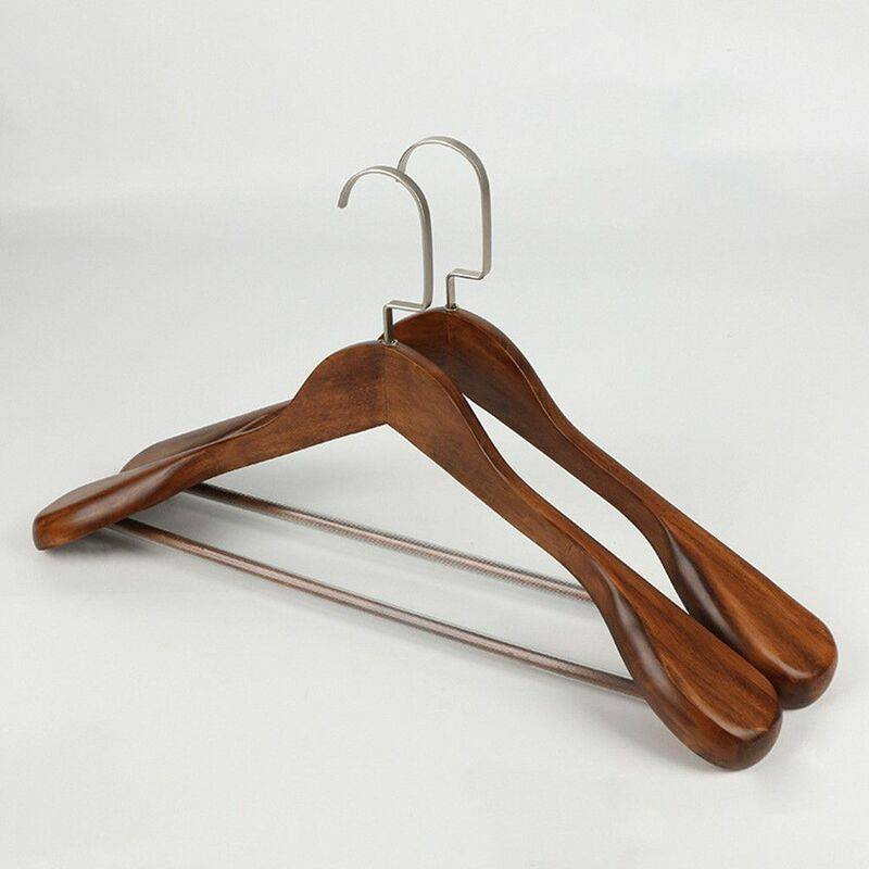 MALLOMNE Cintres en bois à large épaule de haute qualité - Cintre pour costume