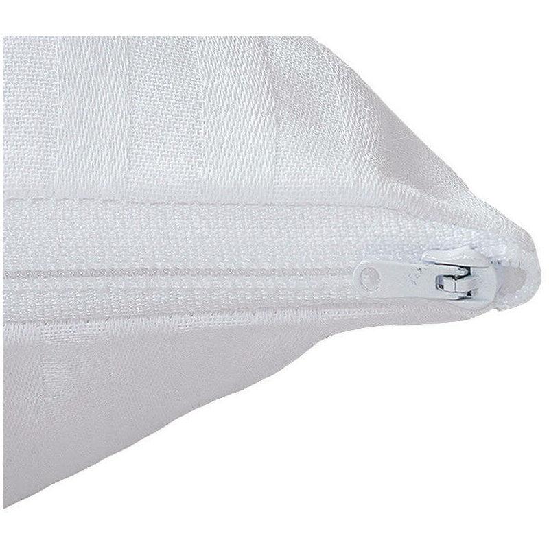 Aznar - Taie d'oreiller en satin gaufré   120 cm