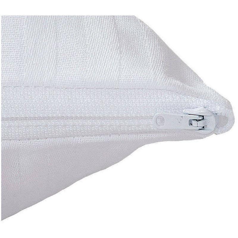 Aznar - Taie d'oreiller en satin gaufré   80 cm