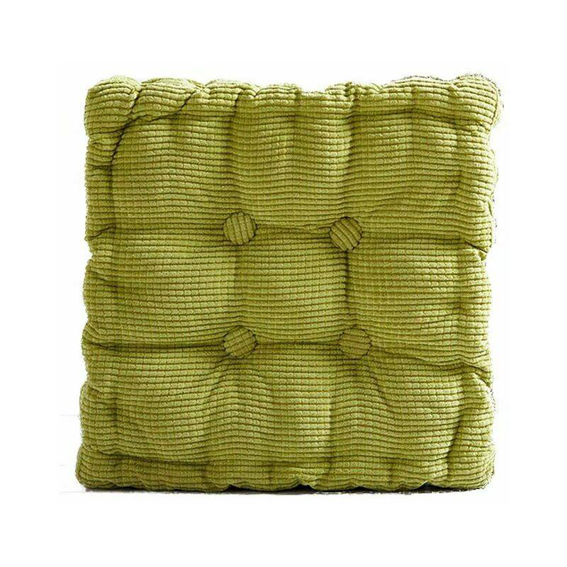 ILOVEMONO Galette de chaise? Coussin d'assise? 40 x 40 cm, vert