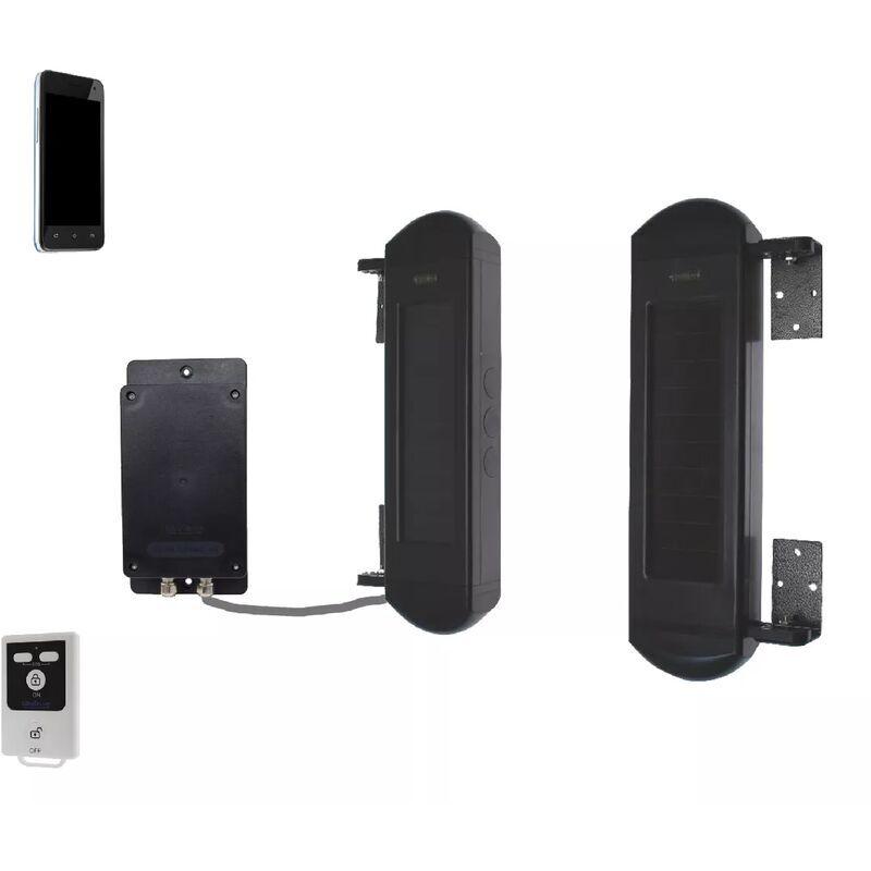 Ultra Secure - Barrières infrarouges GSM 100% autonomes solaires double