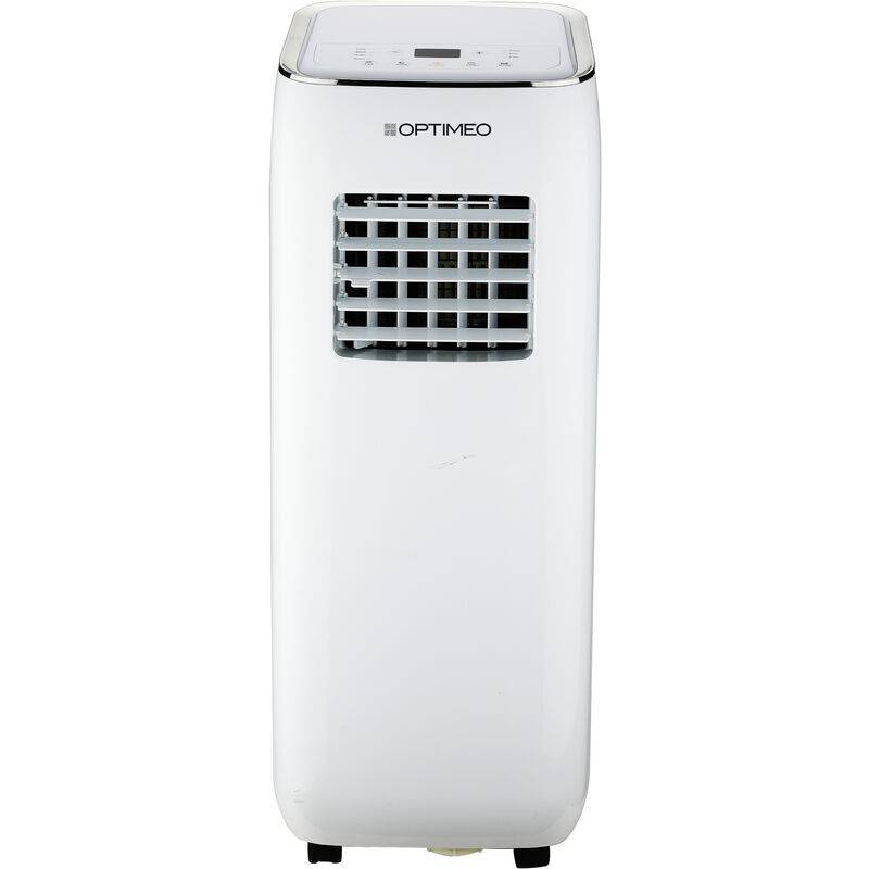 OPTIMEO Climatiseur mobile 2000W (7000BTU) compact et silencieux pour les
