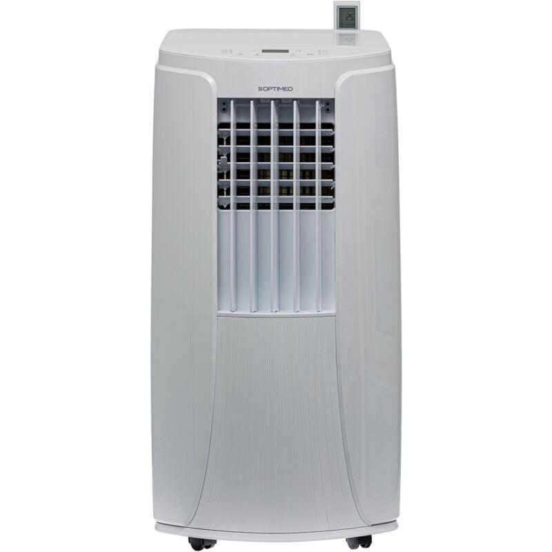 Optimeo - Climatiseur mobile 3500W (12000BTU) silencieux pour les