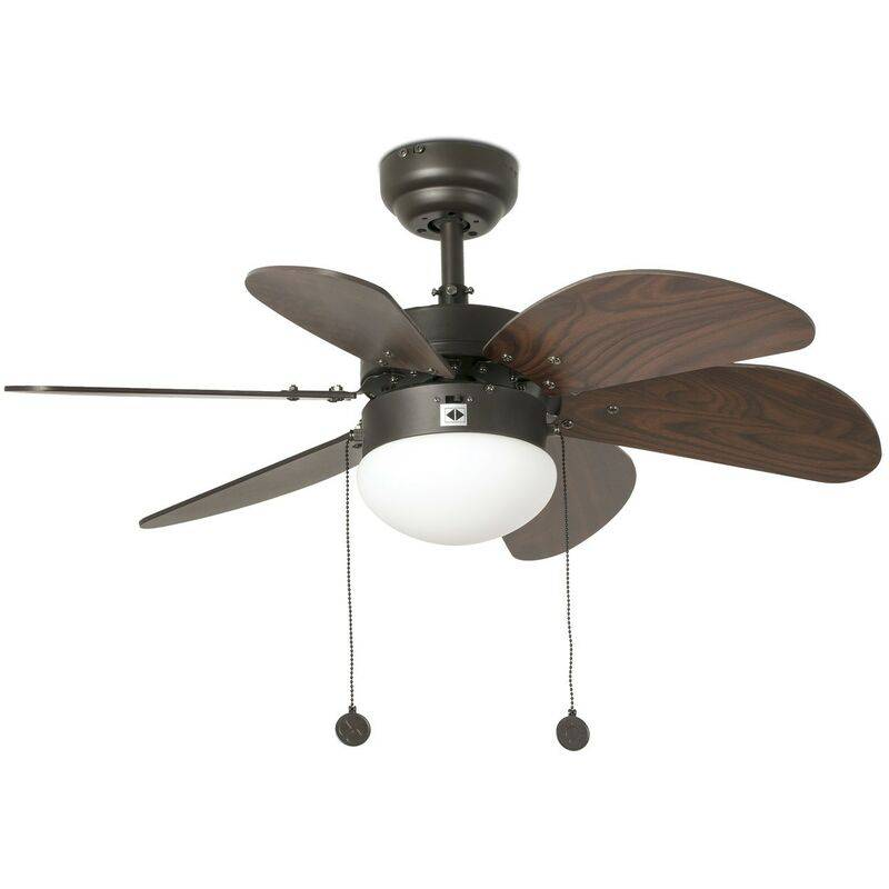 FARO Ventilateur de plafond avec lumière Palao réf. 33185