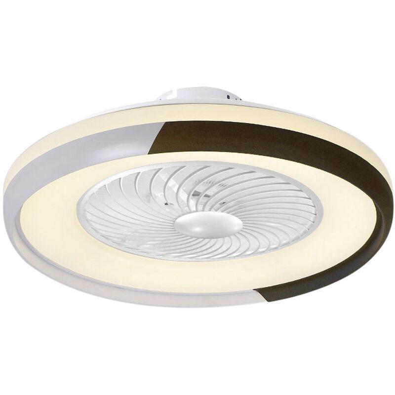 ASUPERMALL Ventilateur De Plafond Brun Ca 220 V Gradation Tricolore Vent A Trois
