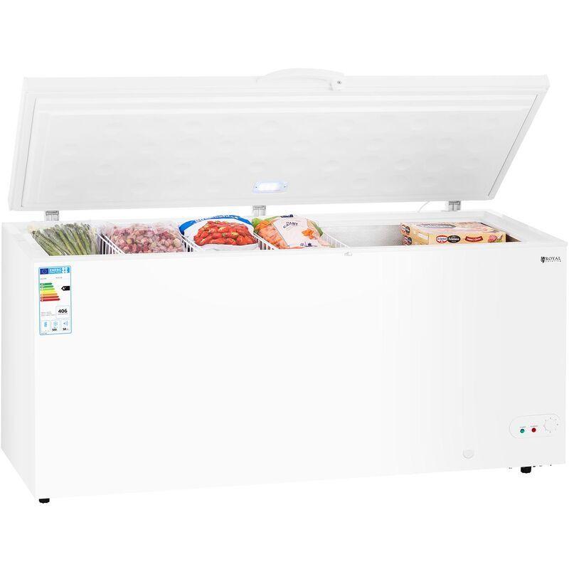 Royal Catering - Congélateur Coffre Réfrigérateur Bahut Freezer Classe