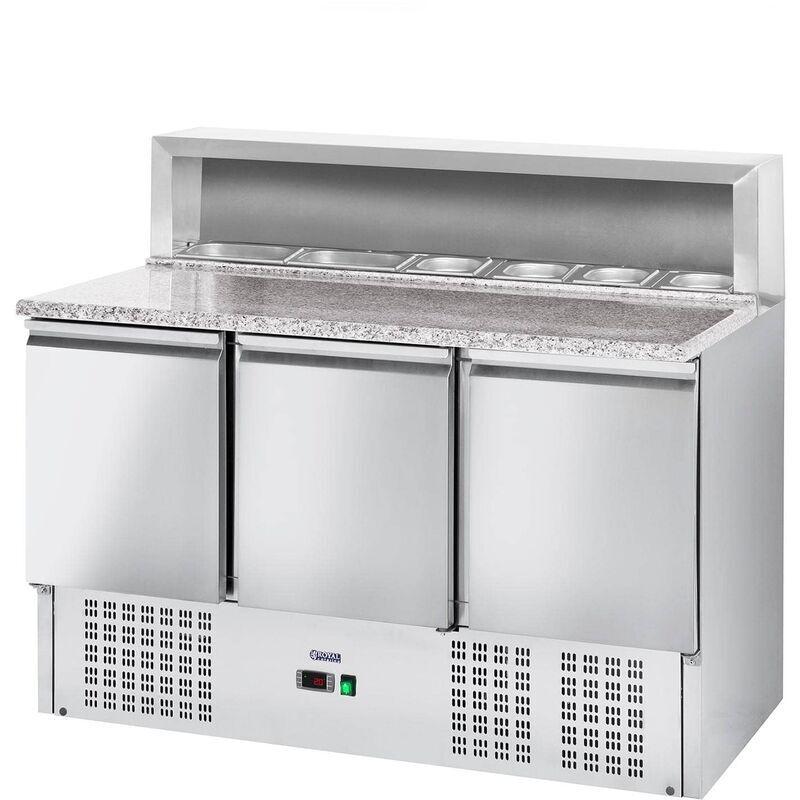 Royal Catering - Table de refroidissement de pizza Worktop