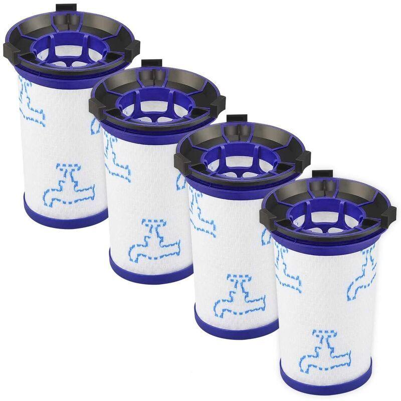 Abcrital - Lot de 4 Filtre de remplacement pour aspirateur 360