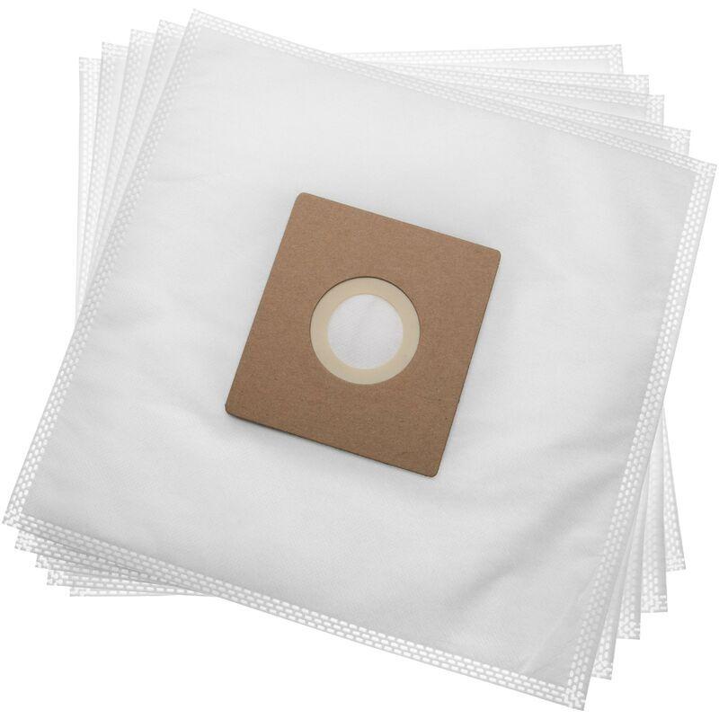 vhbw 5 sacs microfibres non tissées remplace Hoover 35601663, H75 pour