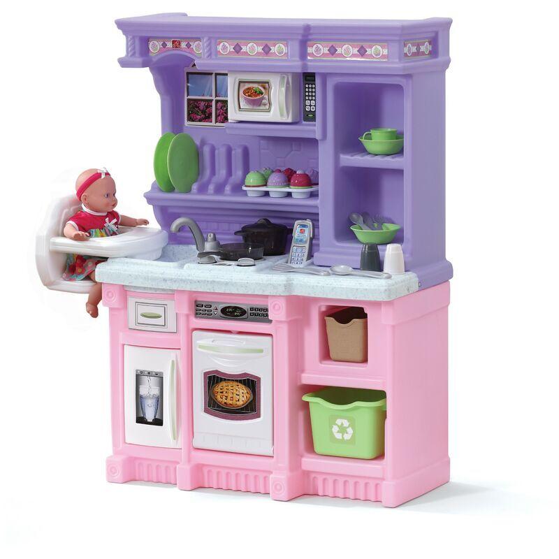 STEP2 Little Baker Cuisine Enfant en Rose / Violet en Plastique   Jeu / Jouet
