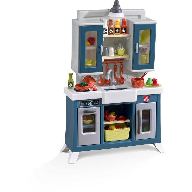STEP2 Modern Farmhouse Cuisine Enfant en Plastique en Marron   Jeu / Jouet