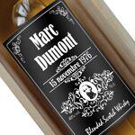Amikado Bouteille de whisky personnalisée style bourbon Offrez une surprise... par LeGuide.com Publicité