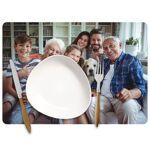 Amikado Set de table personnalisé photo Faites imprimer une photo souvenir... par LeGuide.com Publicité