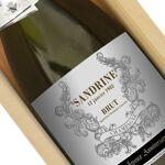 Amikado Bouteille de champagne personnalisée prénom Pour célébrer un... par LeGuide.com Publicité