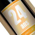 Amikado Bouteille de vin personnalisée Anniversaire Une étiquette de... par LeGuide.com Publicité