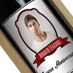 Amikado Bouteille de vin personnalisée Écusson photo Personnalisez votre... par LeGuide.com Publicité
