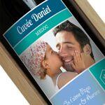 Amikado Bouteille de vin personnalisée étiquette photo Personnalisez... par LeGuide.com Publicité