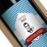 Amikado Bouteille de vin personnalisée Label Une étiquette de bouteille... par LeGuide.com Publicité