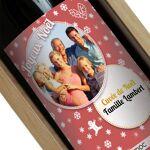 Amikado Bouteille de vin de Noël personnalisée photo Une bouteille de... par LeGuide.com Publicité
