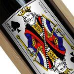 Amikado Bouteille de vin personnalisée Jeu de cartes Une étiquette de... par LeGuide.com Publicité