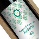 Amikado Bouteille de vin personnalisée Rococo Une étiquette de bouteille... par LeGuide.com Publicité
