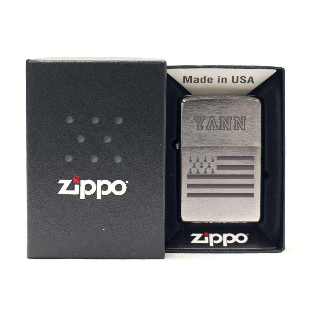 Amikado Zippo® Breizh personnalisé