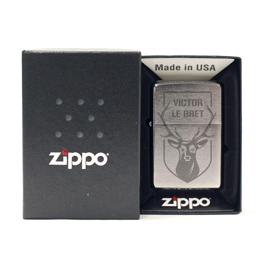 Amikado Zippo® prénom personnalisé