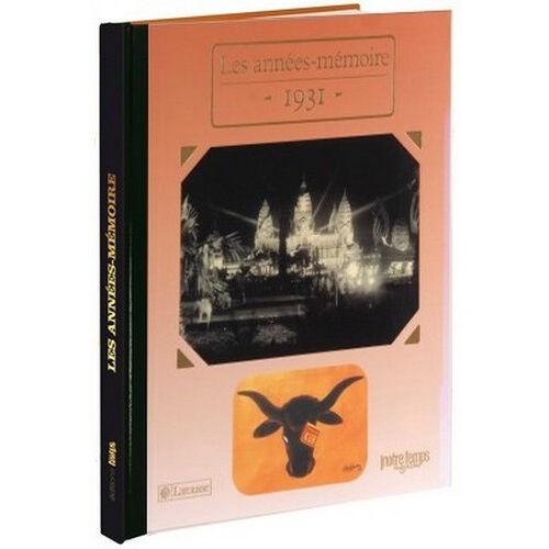 Amikado Livre mémoire de l'année 1931
