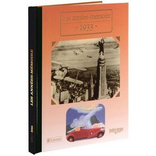 Amikado Livre mémoire de l'année 1933