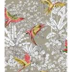homemaison  HomeMaison Tissu imprimé jungle et perroquet Ce tissuexotique... par LeGuide.com Publicité