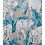 homemaison  HomeMaison Tissu imprimé éléphants et feuillages Majestueux... par LeGuide.com Publicité