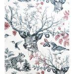 homemaison  HomeMaison Tissu imprimé la forêt poétique Ambiance poétique... par LeGuide.com Publicité