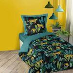 homemaison  HomeMaison Parure de couette imprimée forêt tropicale Ambiance... par LeGuide.com Publicité