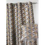 homemaison  HomeMaison Rideau en jacquard imprimés géométriques Ce rideau... par LeGuide.com Publicité