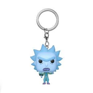 Porte-clé Pop! Holo Rick - Rick Et Morty