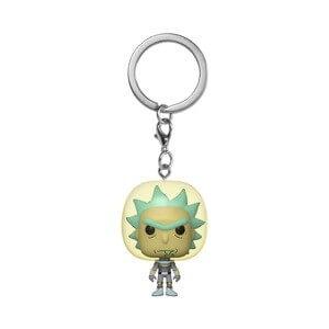 Porte-clé Pop! Space Rick - Rick Et Morty