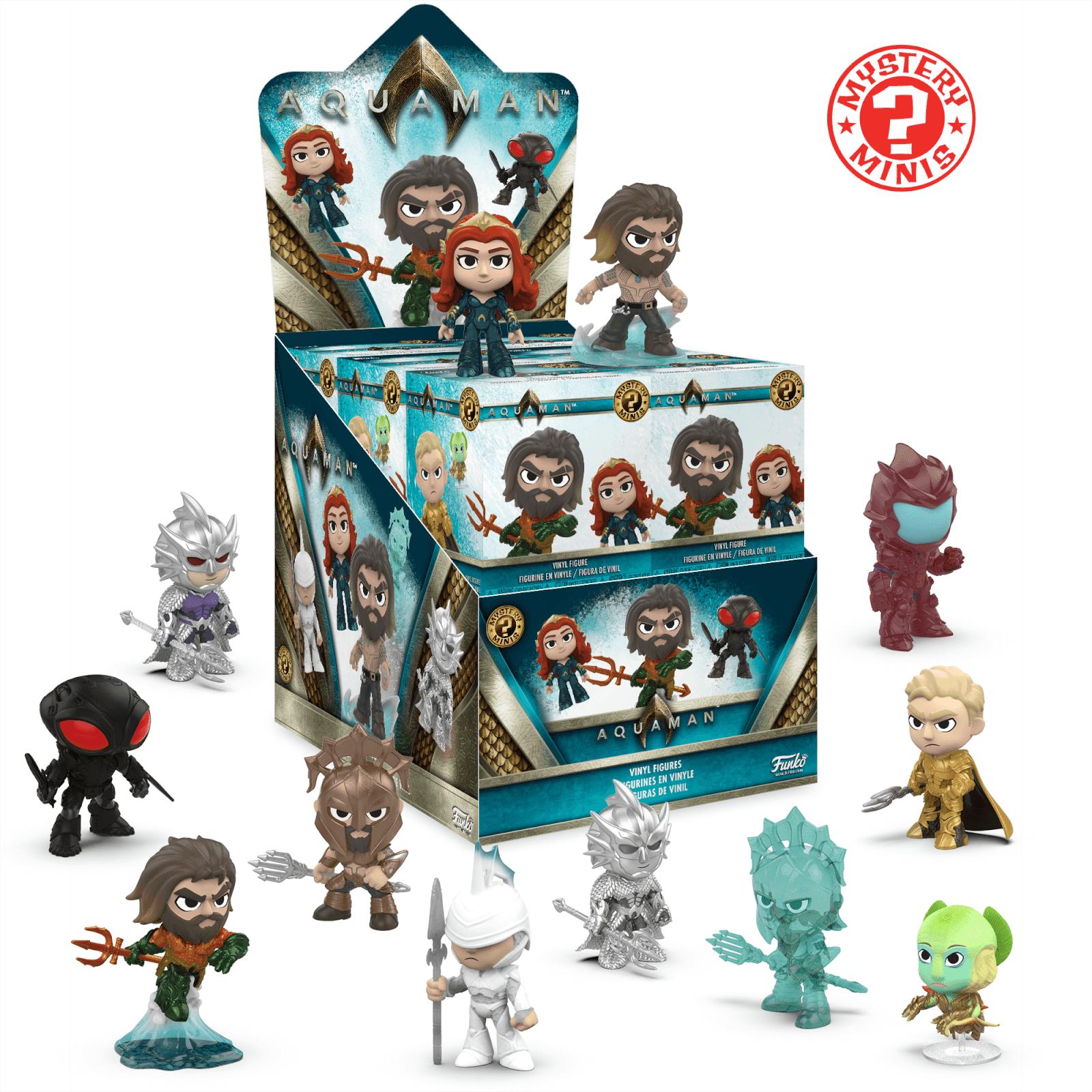 Mystery Minis Figurine Mystery Mini Aquaman DC Comics