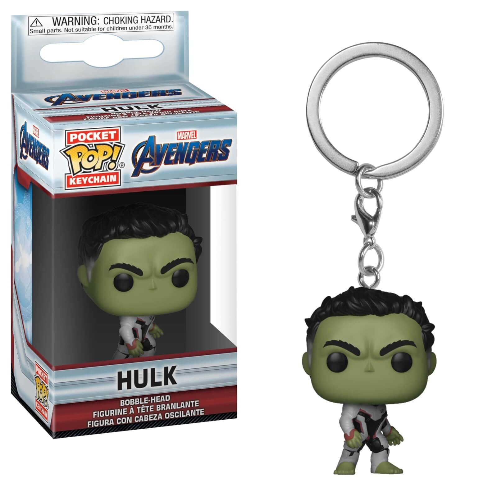 Pop! Keychain Porte Clé Pop! Keychain Marvel Avengers Endgame - Hulk