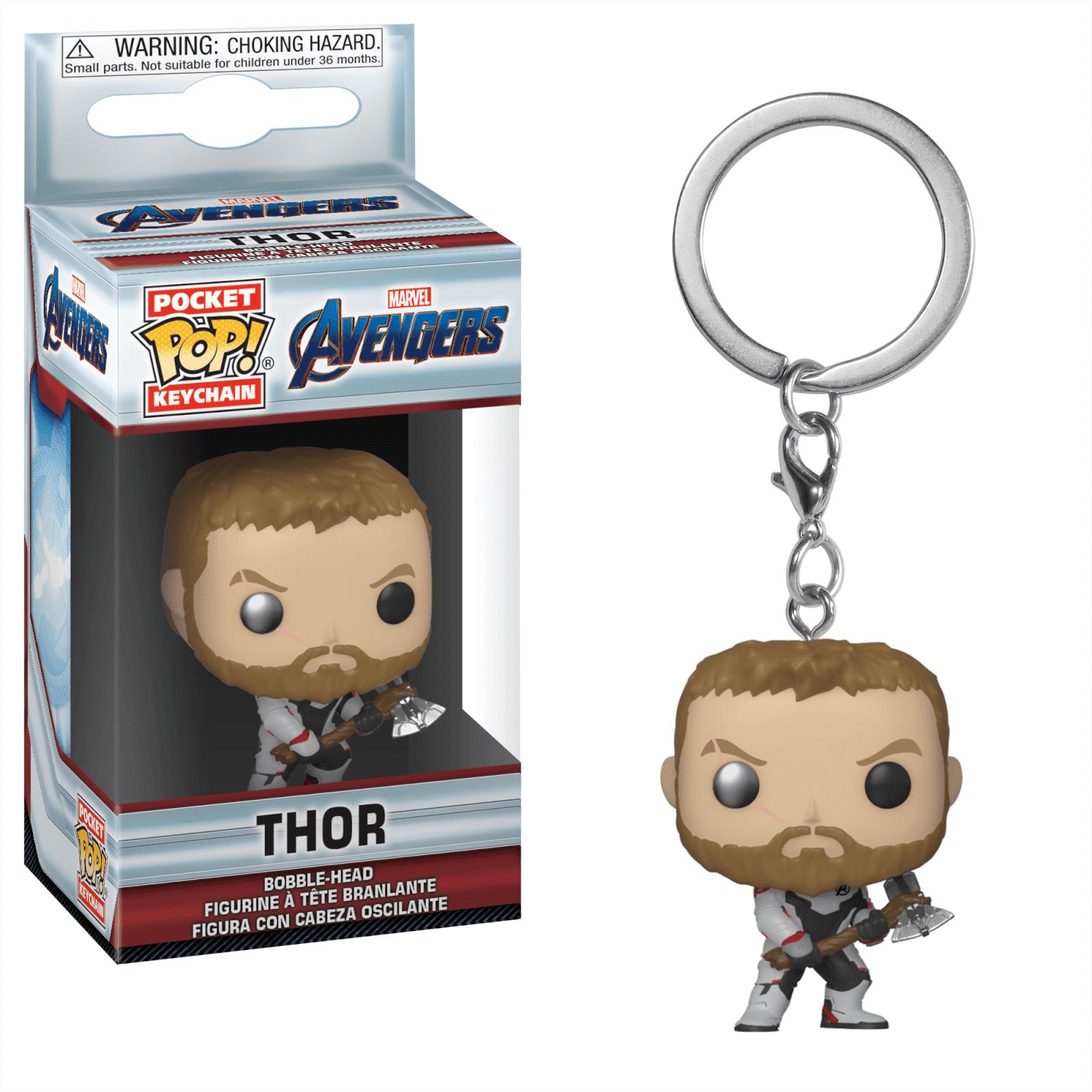 Pop! Keychain Porte Clé Pop! Keychain Marvel Avengers Endgame - Thor