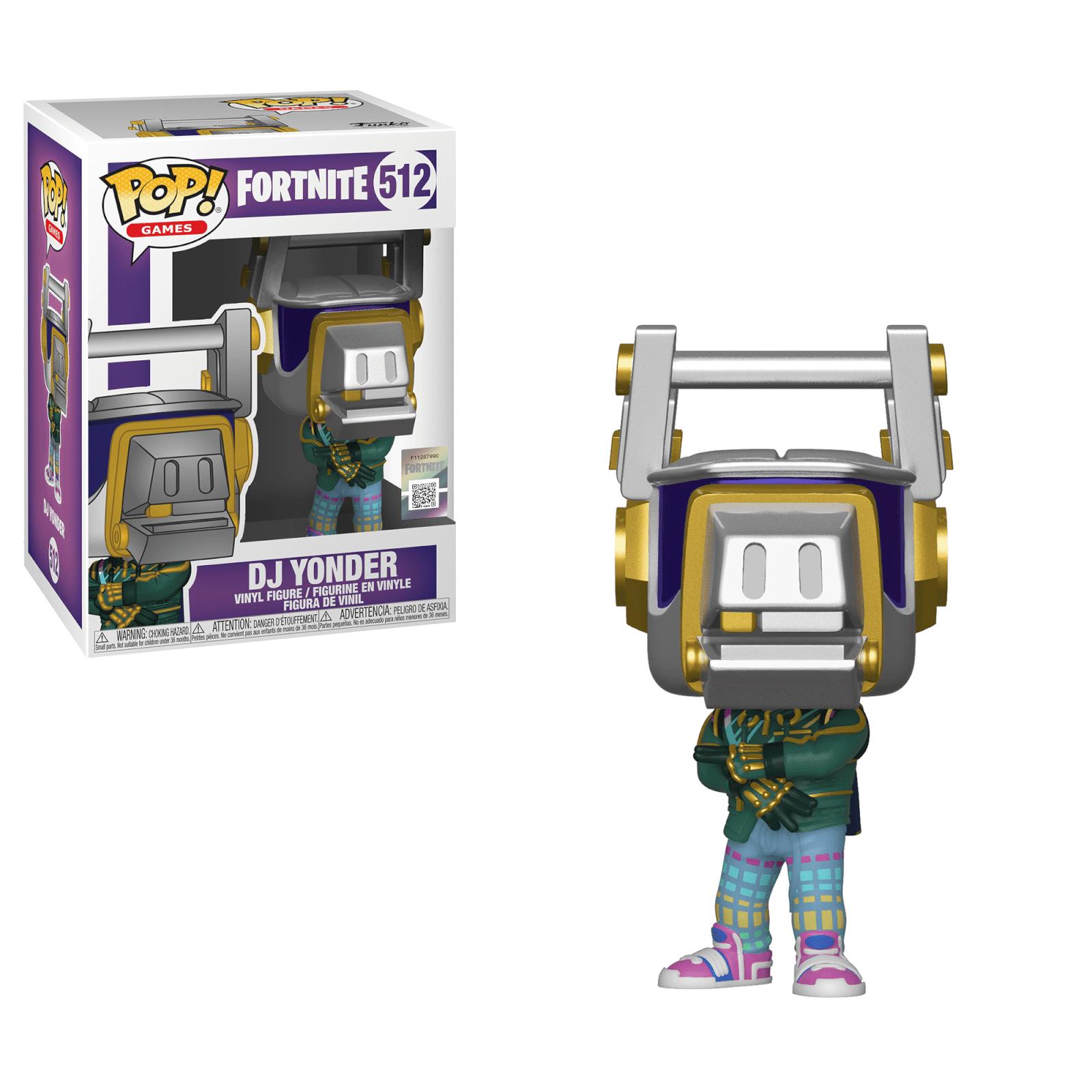 Pop! Vinyl Figurine Pop! DJ Yonder - Fortnite