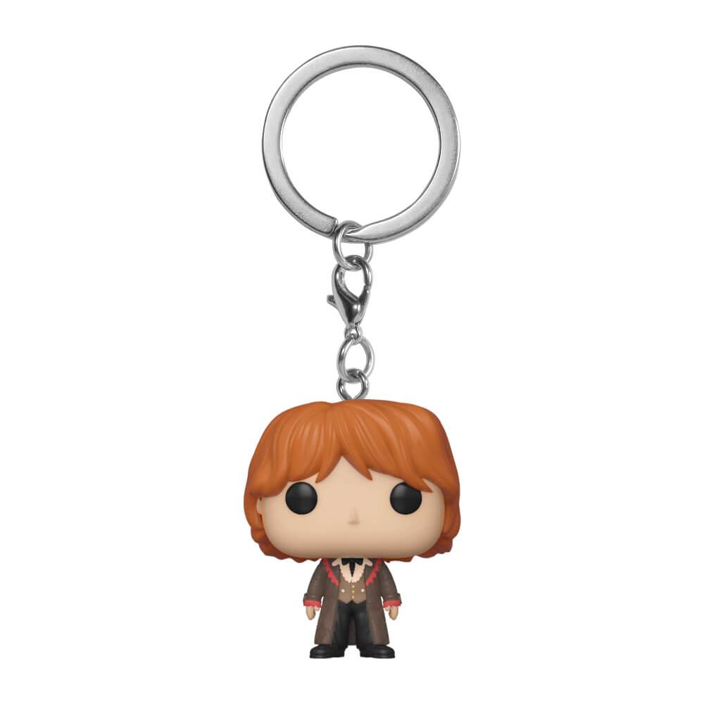 Pop! Keychain Porte Clé Pop! Ron Weasley Bal de Noël Harry Potter