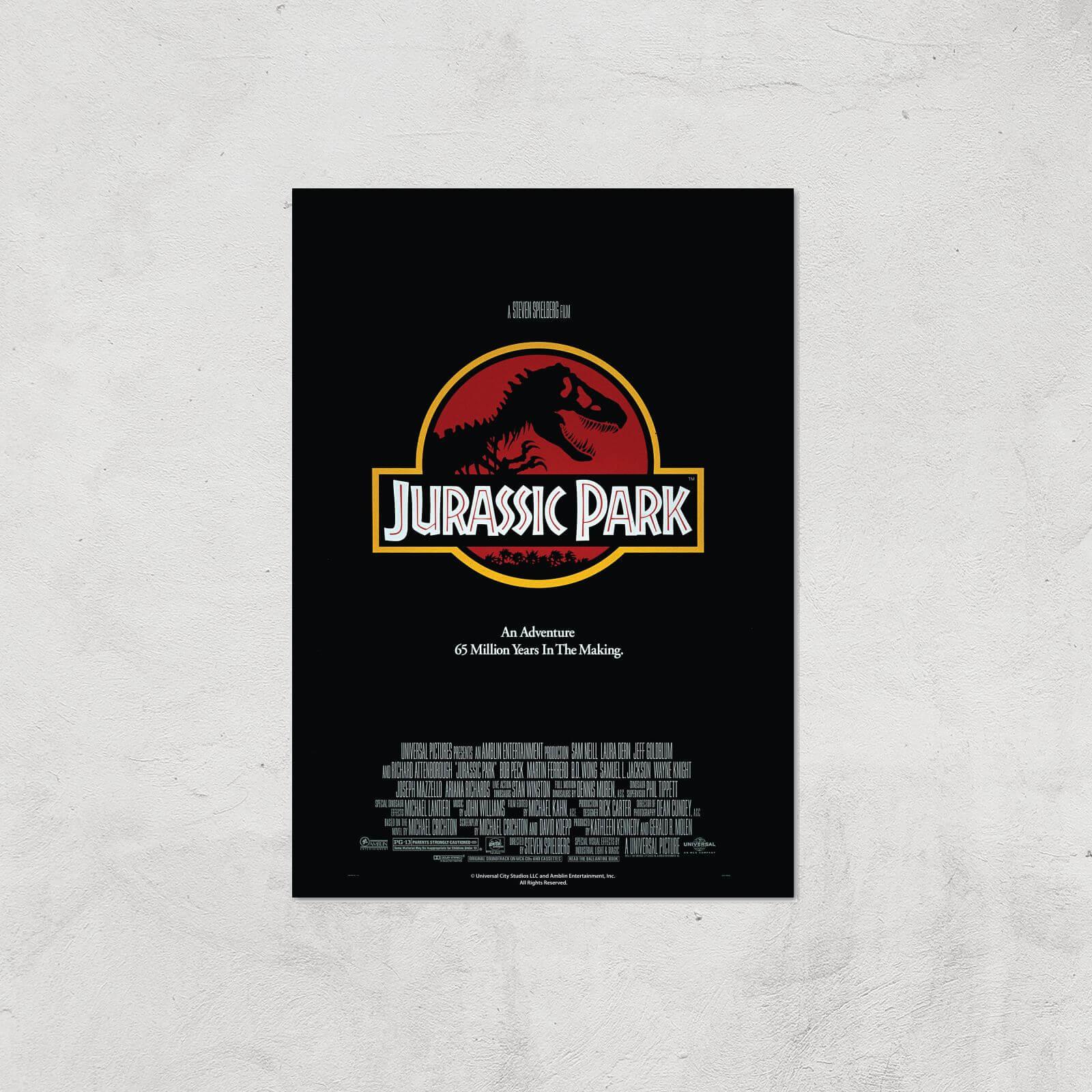 Zavvi Gallery Jurassic Park Giclee Art Print - A4 - Print Only