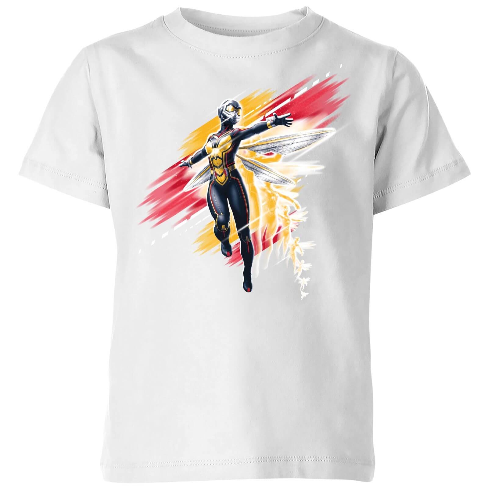 Marvel T-Shirt Enfant Ant-Man et la guêpe - Brossé - Blanc - 7-8 ans - Blanc