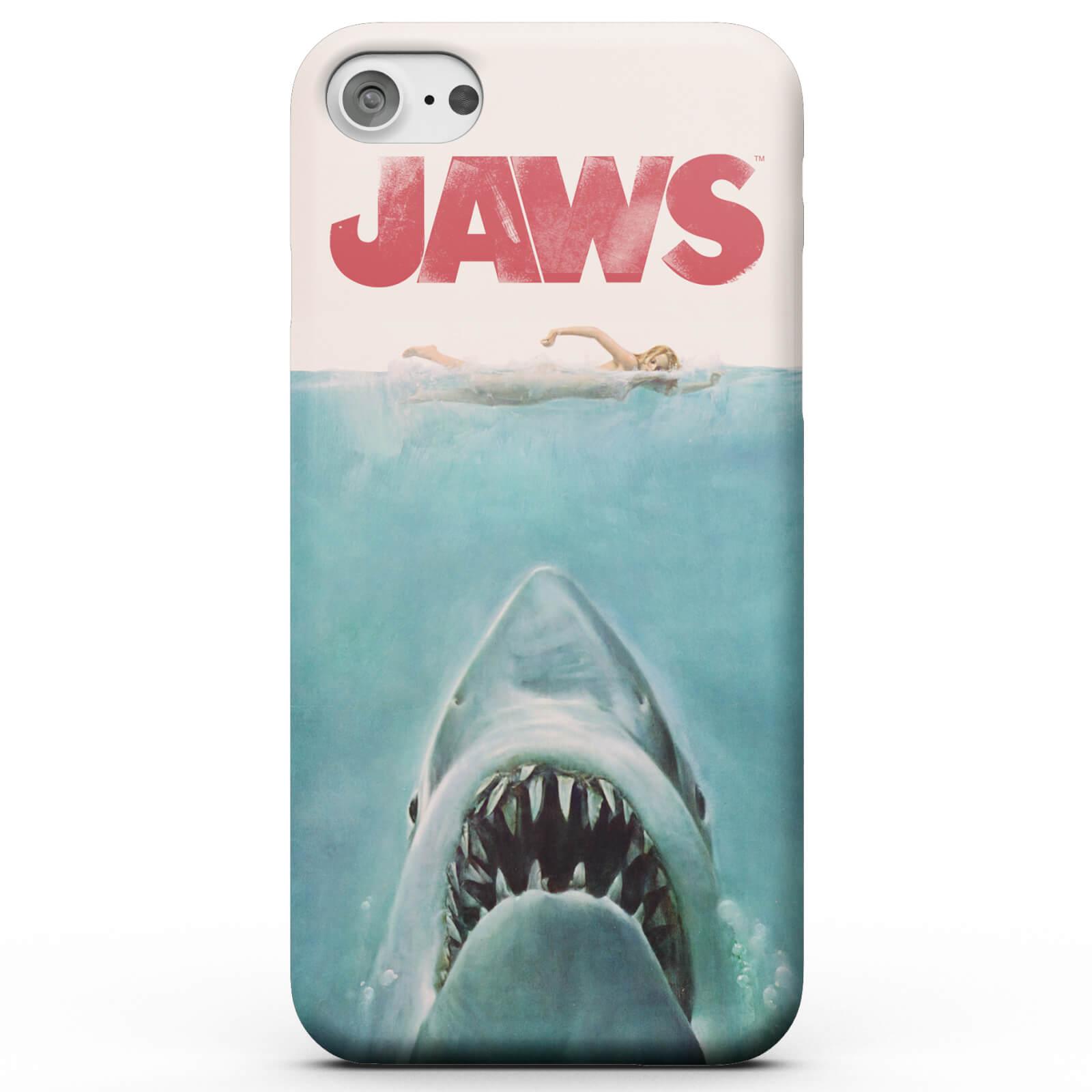 Jaws Coque Smartphone Les Dents de la Mer pour iPhone et Android - Samsung S7 - Coque Simple Vernie