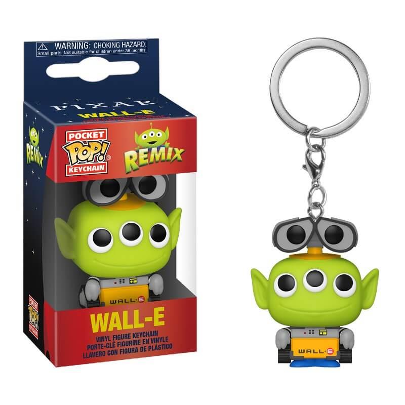 Disney Pixar Alien as Wall-E Pop! Keychain