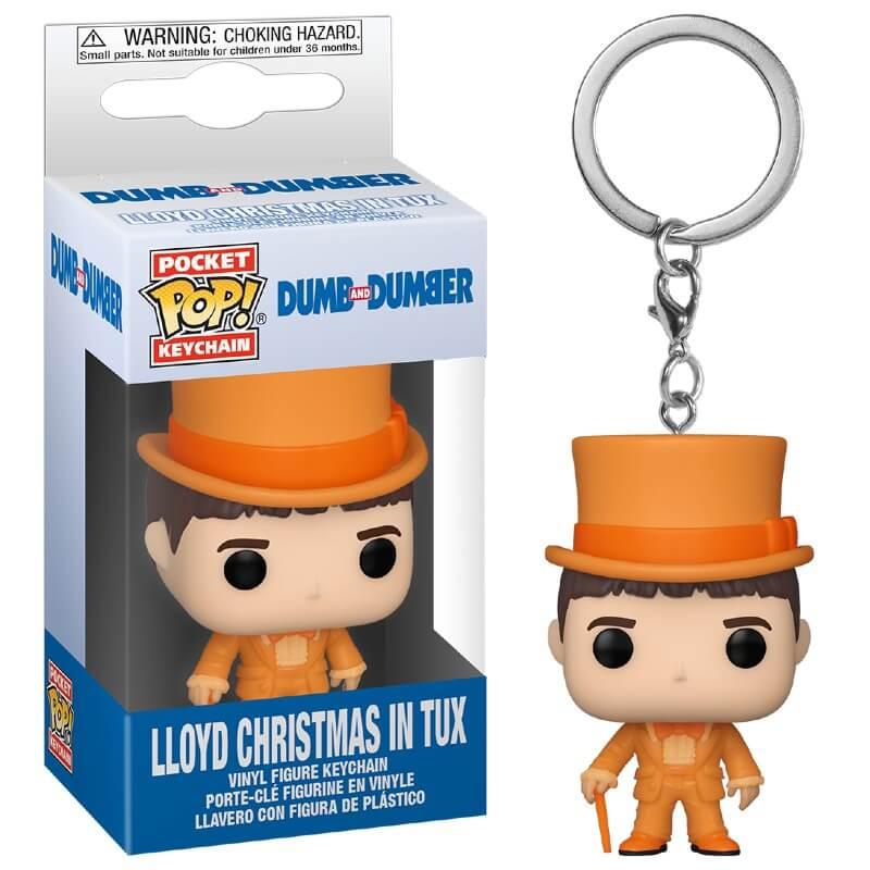 Pop! Keychain Dumb & Dumber Lloyd in Tux Pop! Keychain