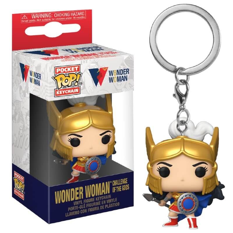 DC Comics Wonder Woman Challenge of the Gods Pop! Keychain