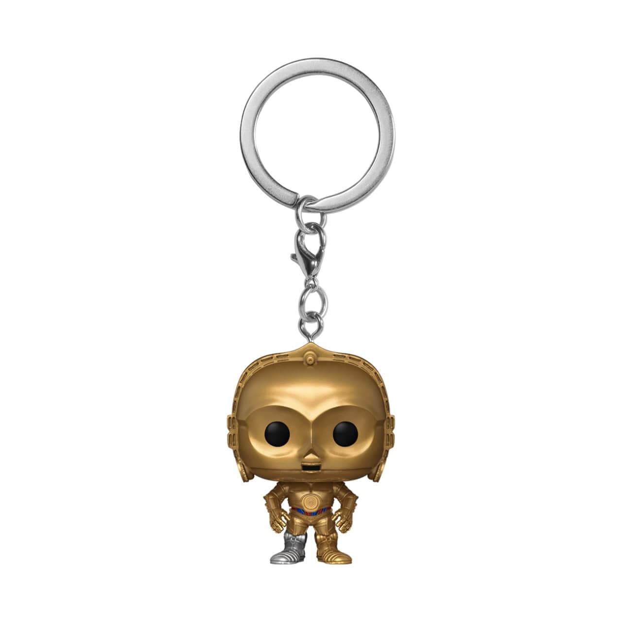 Star Wars C3P0 Pop! Keychain