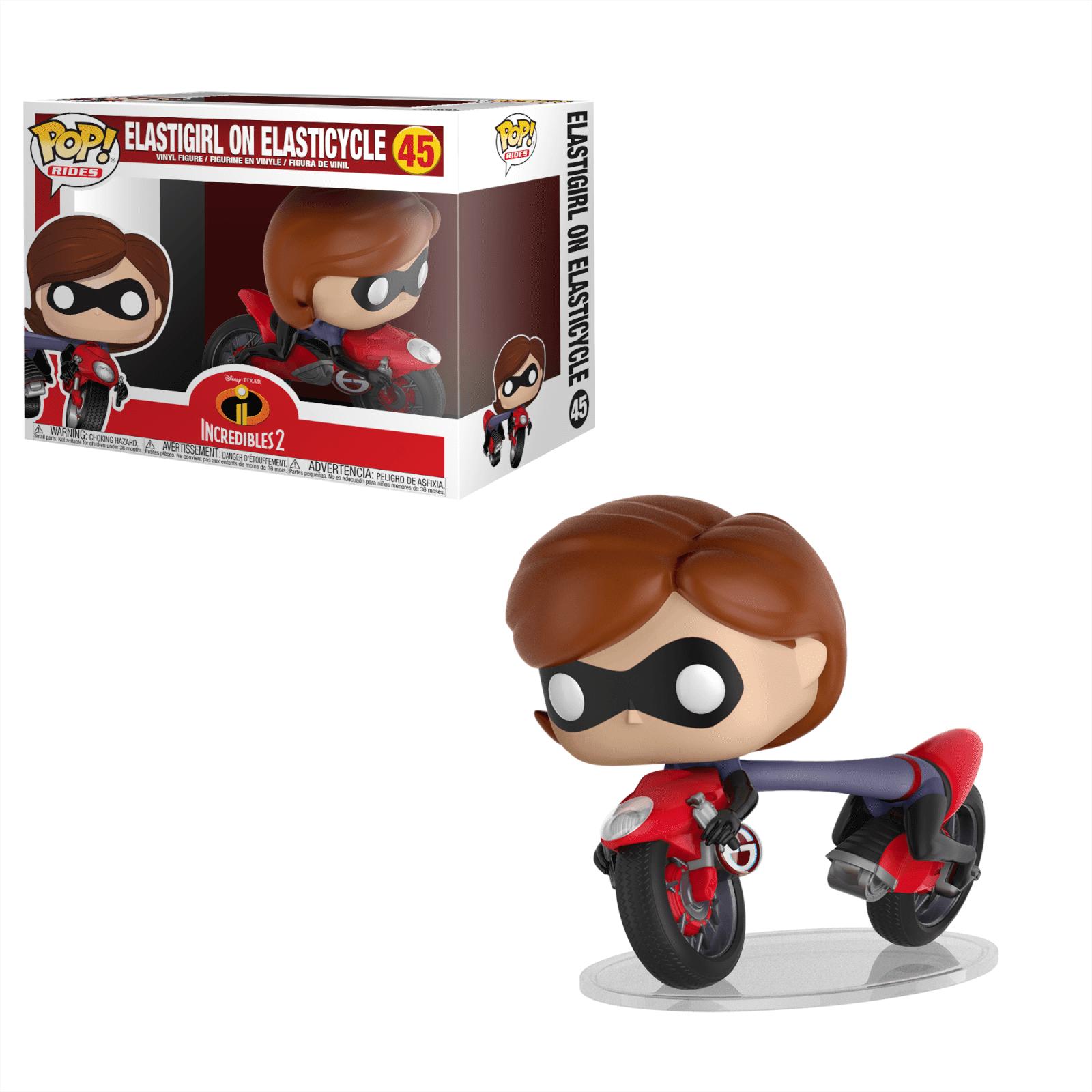 Pop! Vinyl Figurine Pop! Elastigirl sur Moto Les Indestructibles Disney - Vinyl Ride